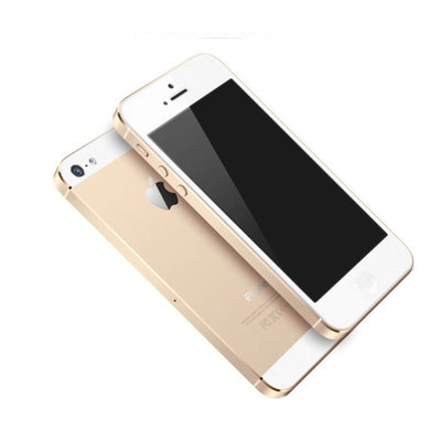 Certified Used Phones for Sale – Apple iPhone 5S Gold for Sprint Stock Photo