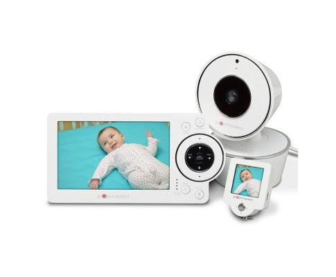 "5"" HD Video Baby Monitor with Mini Monitor"