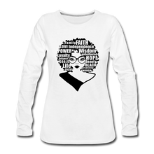 Load image into Gallery viewer, She Is Unique (Long Sleeved) - white