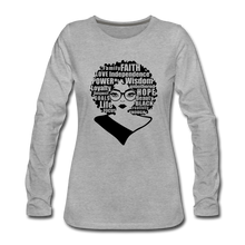 Load image into Gallery viewer, She Is Unique (Long Sleeved) - heather gray