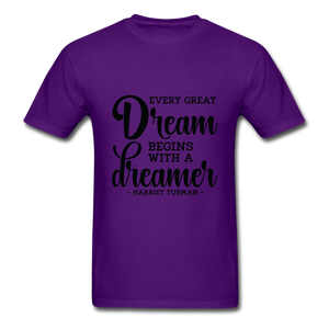Beautiful Dreamer - purple