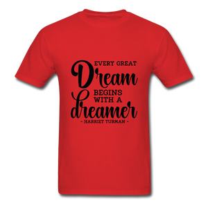 Beautiful Dreamer - red