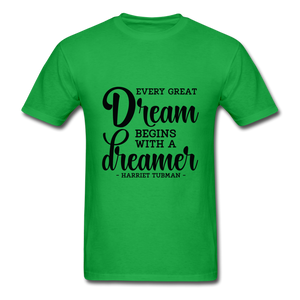 Beautiful Dreamer - bright green