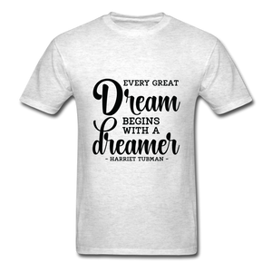 Beautiful Dreamer - light heather gray