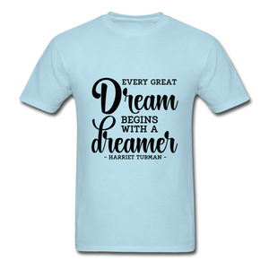 Beautiful Dreamer - powder blue