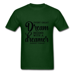 Beautiful Dreamer - forest green