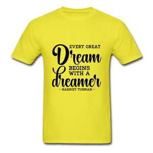 Beautiful Dreamer - yellow