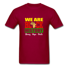 Load image into Gallery viewer, We are Black History! - dark red