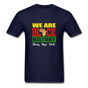 We are Black History! - navy
