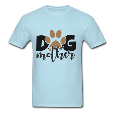 Dog Mom - powder blue