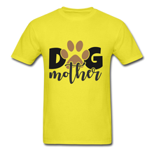 Load image into Gallery viewer, Dog Mom - yellow