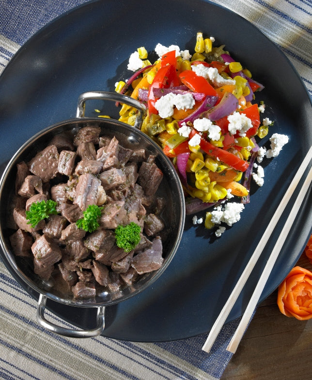 Chimi Beef with Chimi Slaw - Muscle Fuel