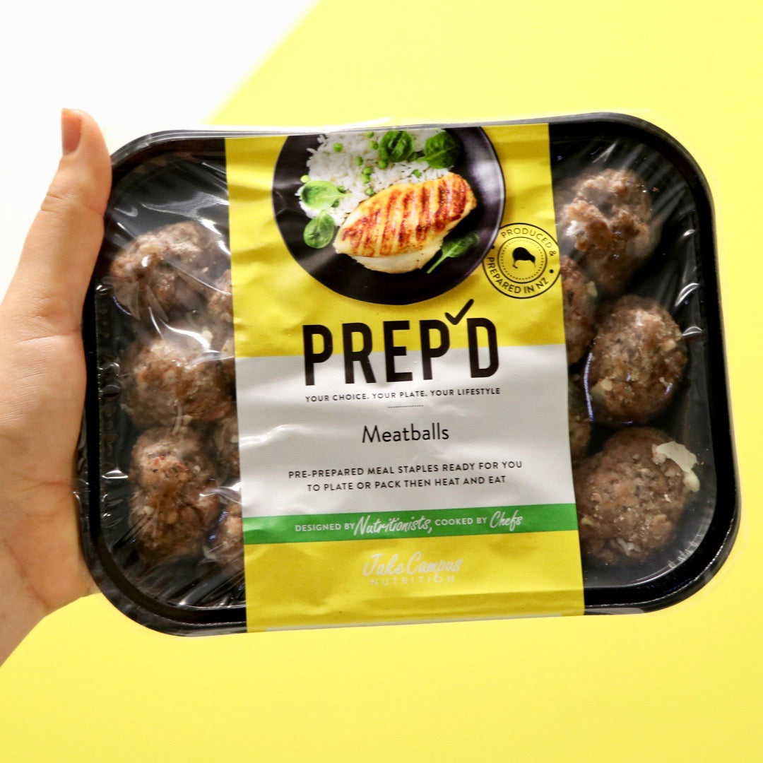 Prep'd Pork and Beef Meatballs