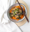 Tofu & Carrot Zoodles - Muscle Fuel