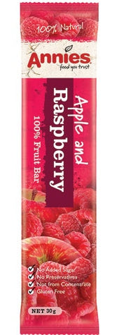 Annies Apple and Raspberry Fruit Bar