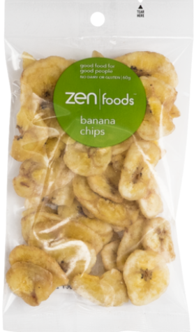 ZEN Foods Banana Chips - Muscle Fuel