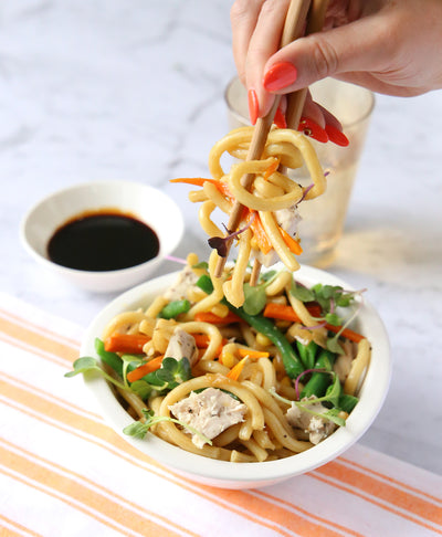 Chicken Noodle Stir Fry - Muscle Fuel