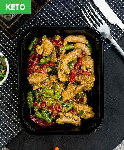 Keto Ginger Soy Chicken - Muscle Fuel