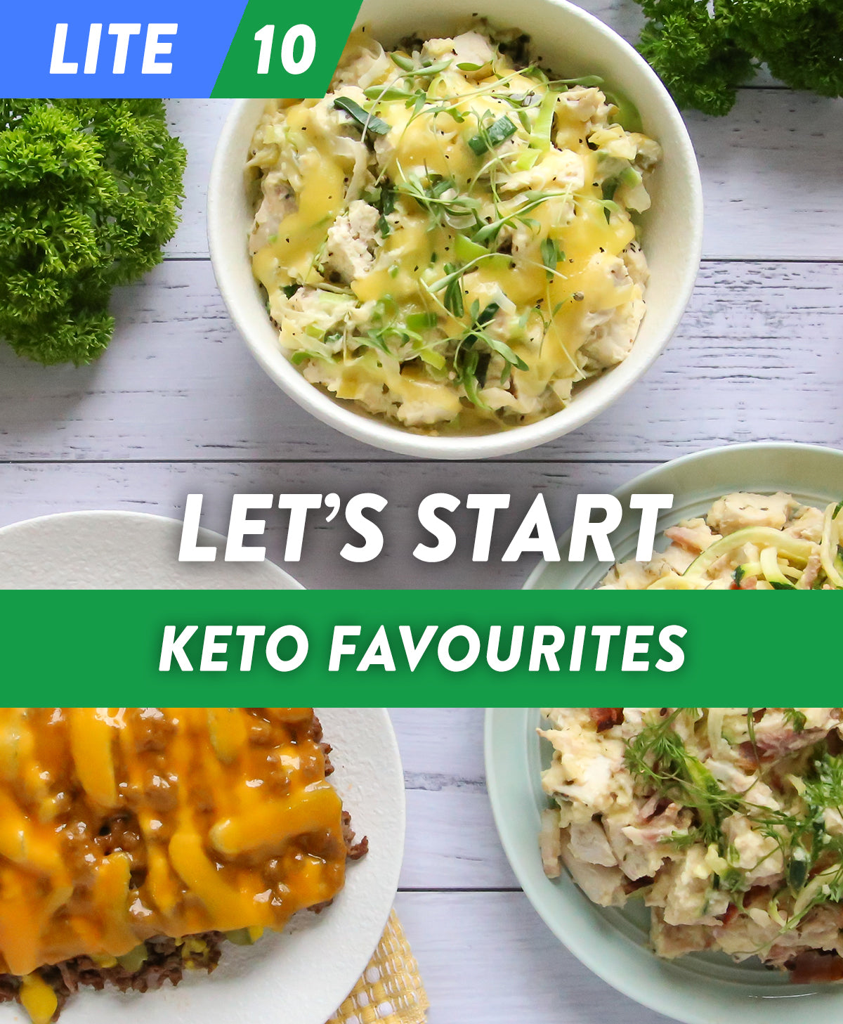 Let's Start - Keto Favourites LITE 10