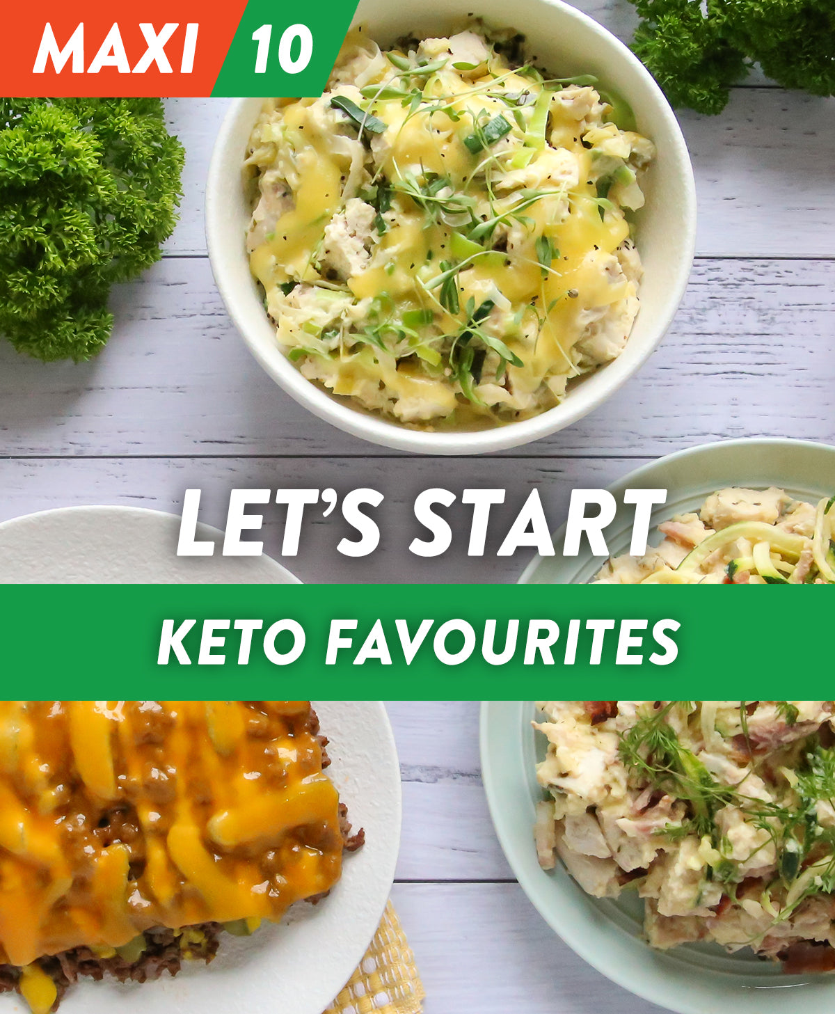 Let's Start - Keto Favourites MAXI 10