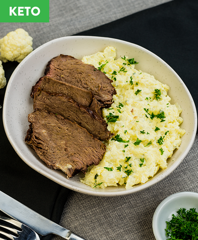 Keto Roast Beef n Mac - Muscle Fuel