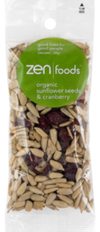ZEN Foods Sunflower Seeds & Cranberry - Muscle Fuel