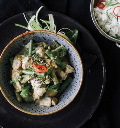 Thai Green Chicken Curry - Muscle Fuel