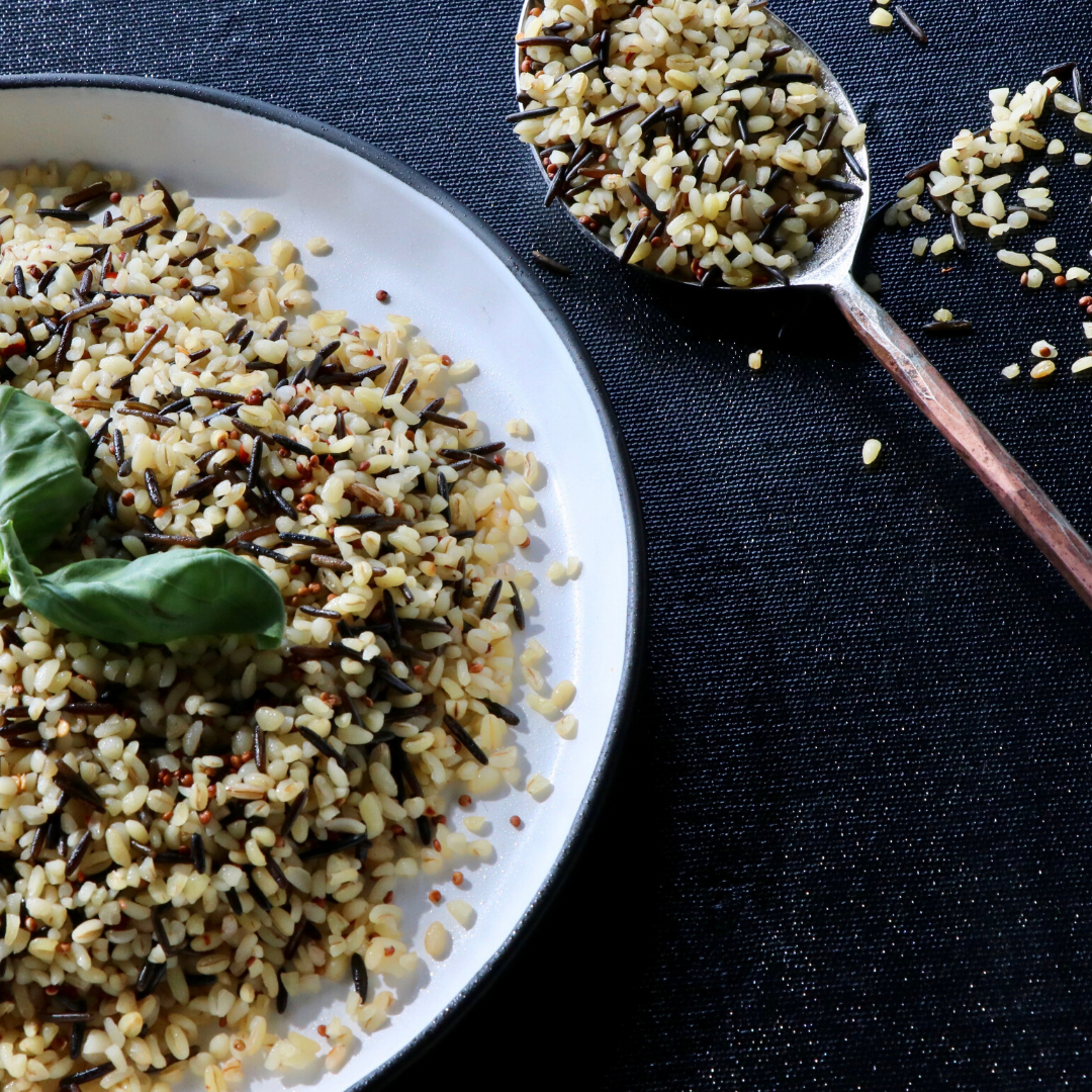 Prep'd Bulgar Wild Rice - Muscle Fuel