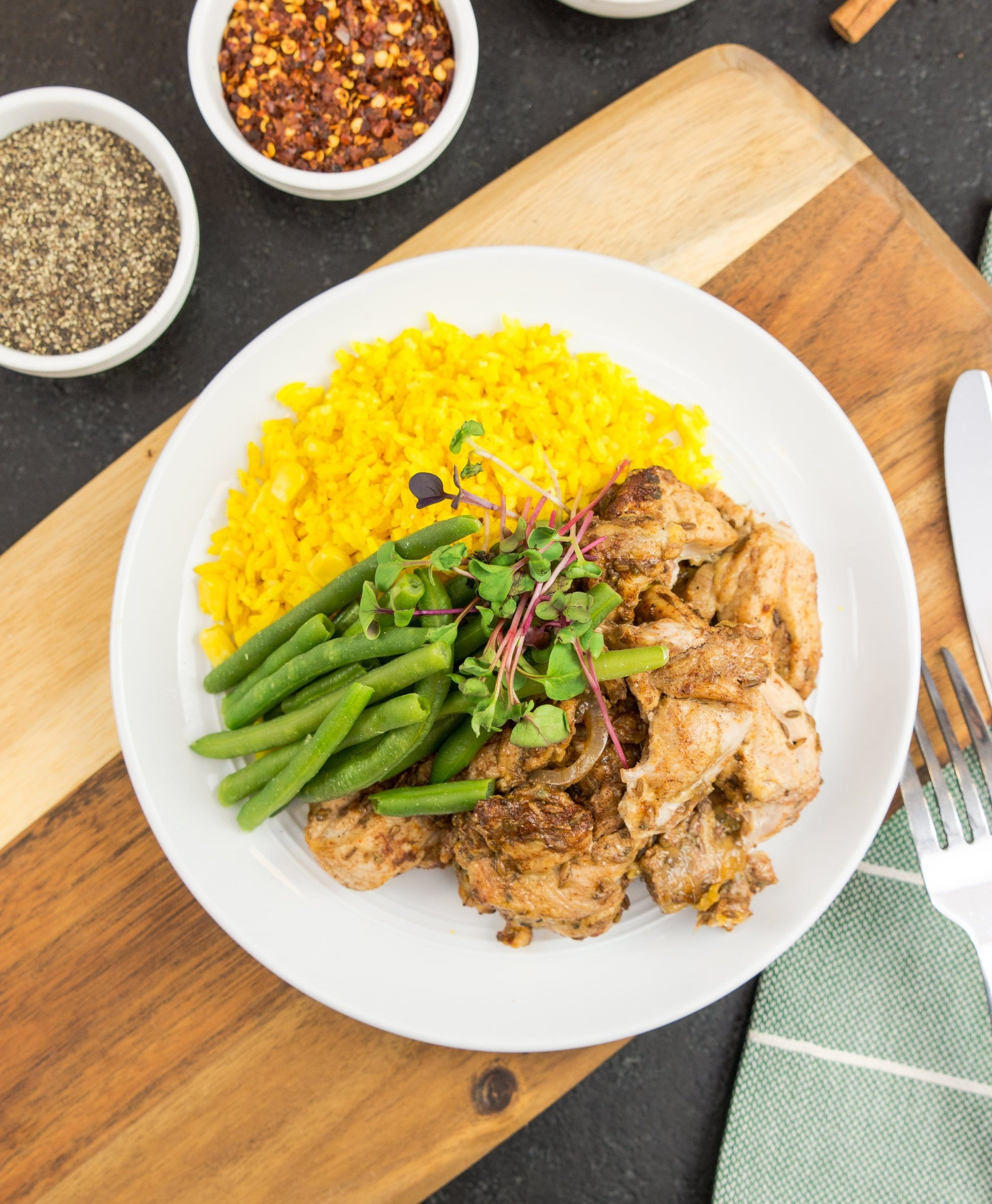Baharat Chicken - NEW! - Muscle Fuel