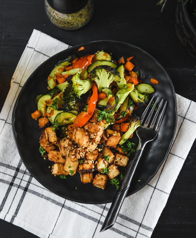 BBQ Broccoli Tofu
