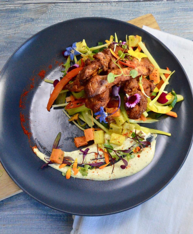 Get Fit Chels' Fav BBQ Chicken with Dragon Slaw