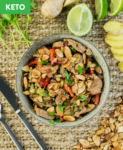 Keto Pork Stirfry - Muscle Fuel