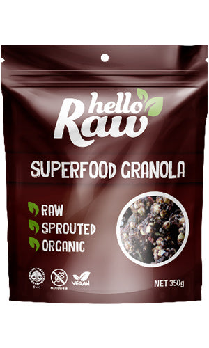 Hello Raw | Superfood Granola - Muscle Fuel