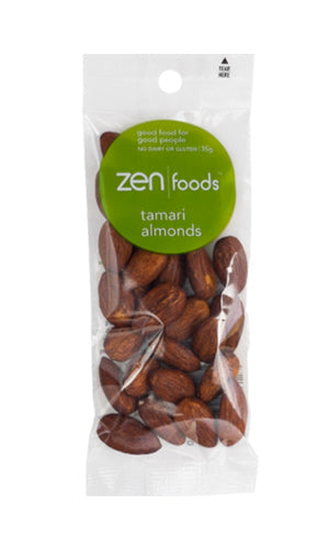 ZEN Foods Tamari Almonds