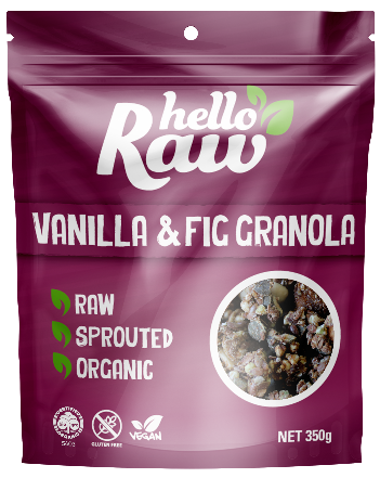Hello Raw | Vanilla and Fig Granola - Muscle Fuel