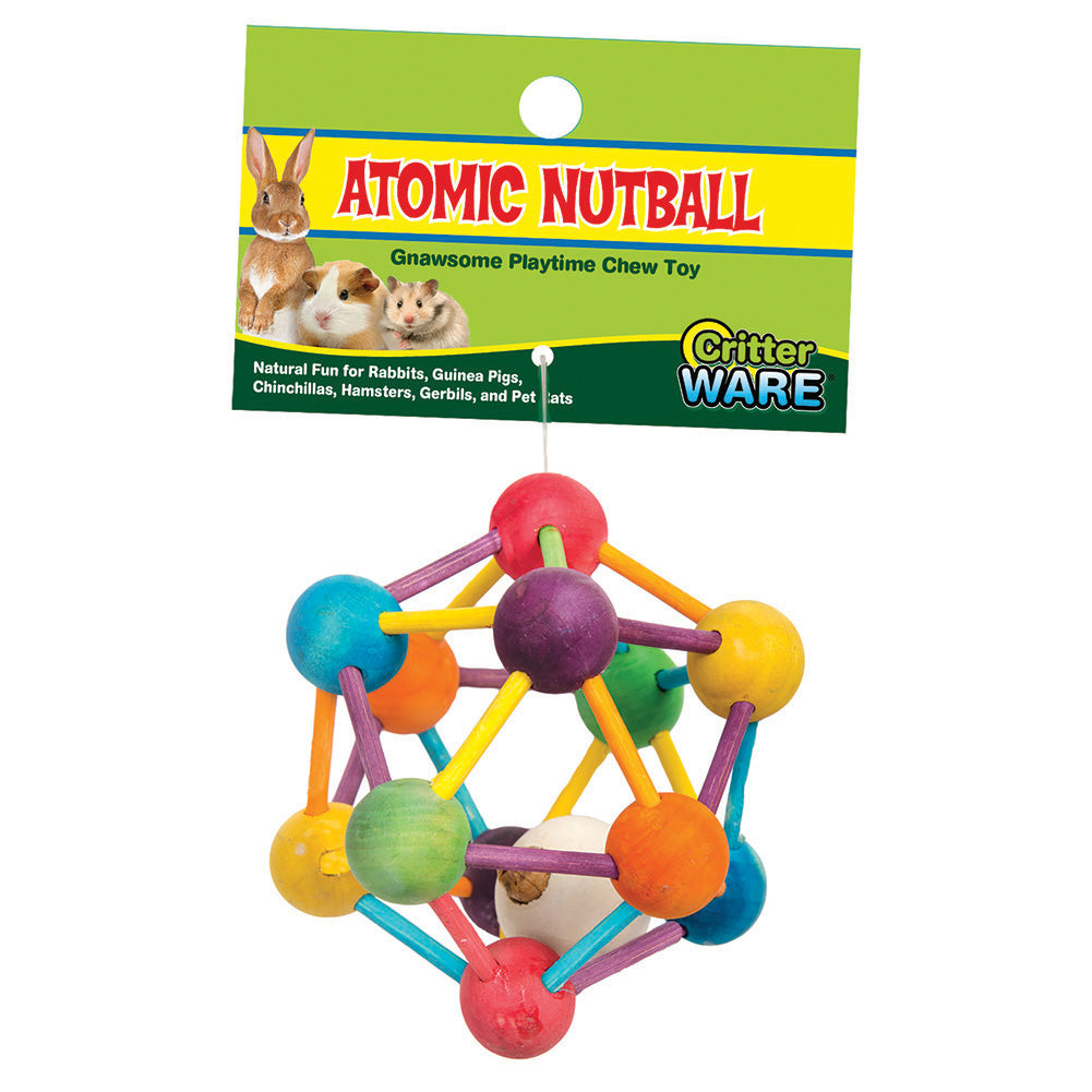 Atomic Nut Ball Chew Toy