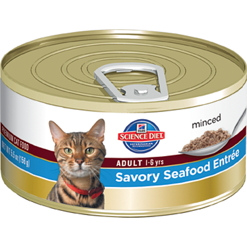 Science Diet Adult Seafood Cat Food 5.5oz