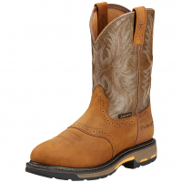 8.5D Ariat Men's Workhog Pull-On Workboot Aged Bark