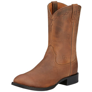 7D Men's Ariat Heritage Roper Brown