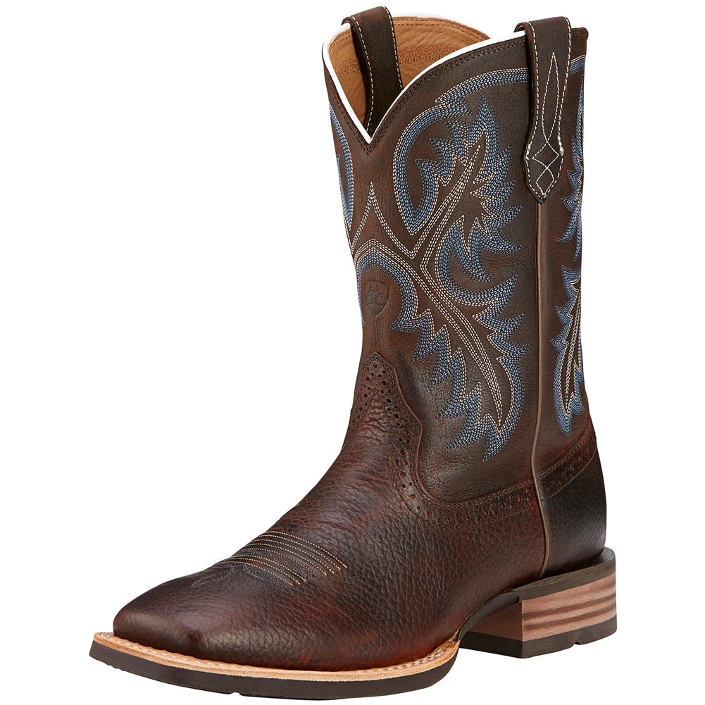 8D Quickdraw Western Boot Brown