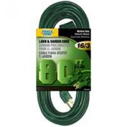 16/3x80ft Outdoor Cord Green 6