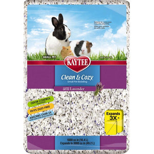 Kaytee Clean and Cozy Bedding Lavender 3000 cubic inches