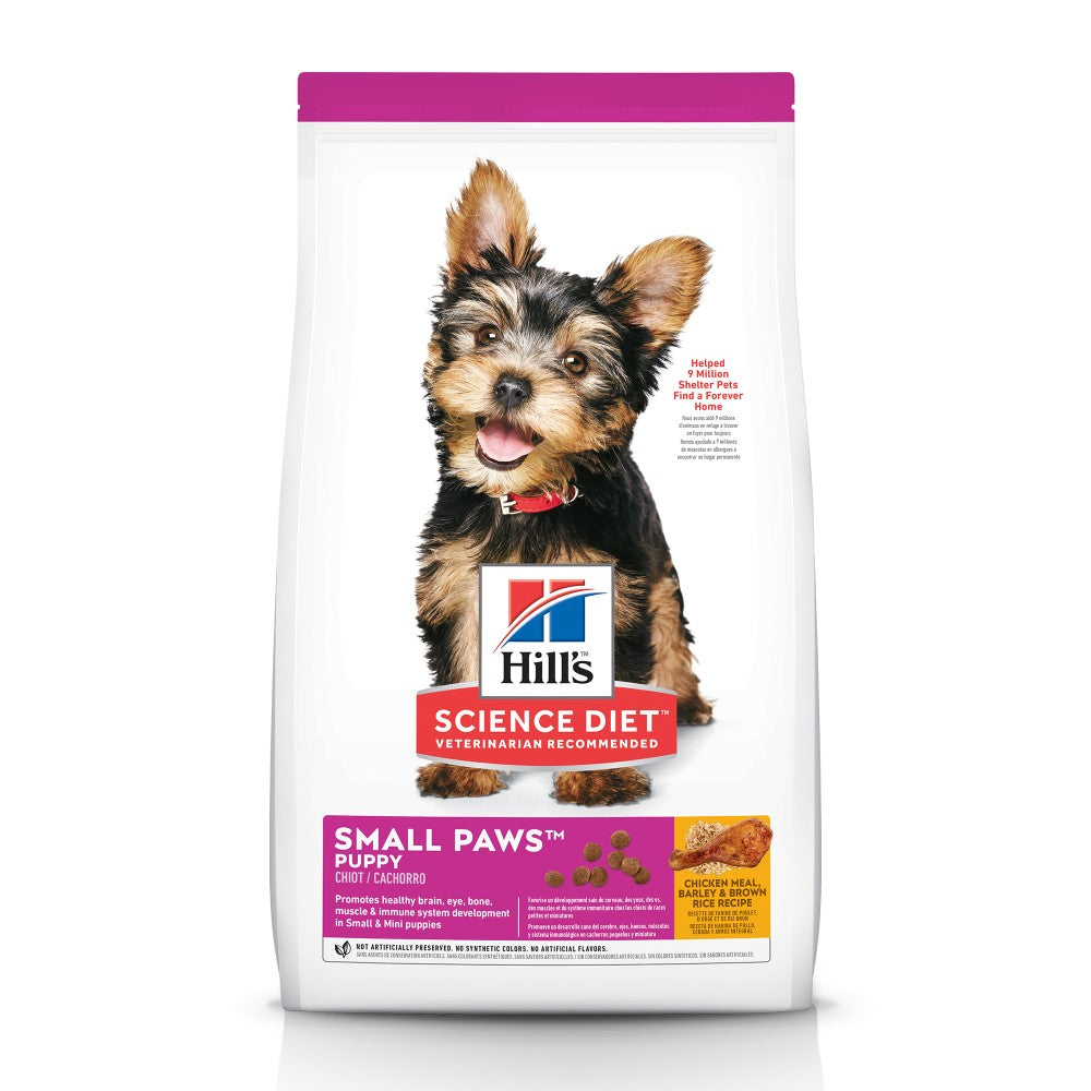 Science Diet Small & Toy Breed Puppy Food 15.5lb