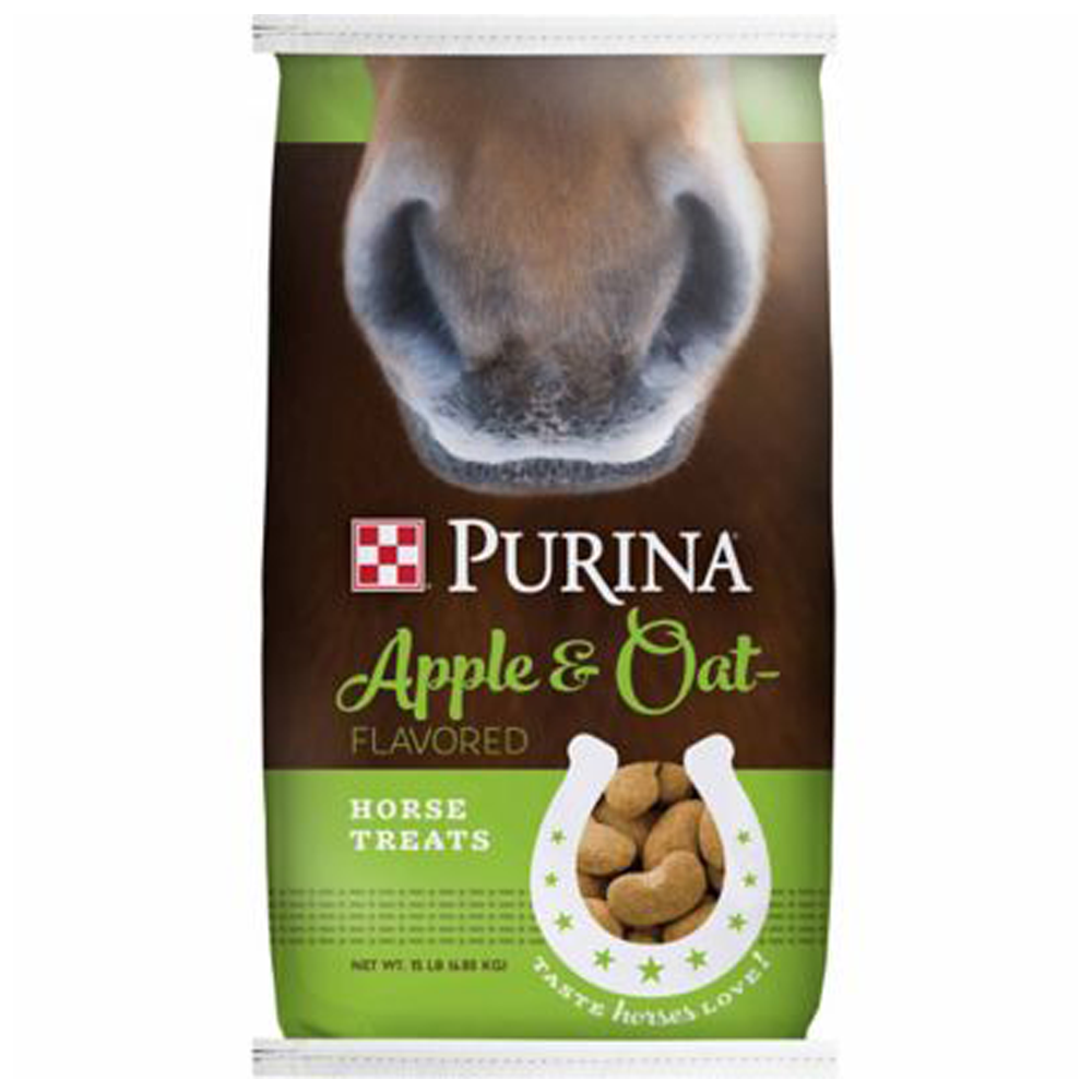 Purina Apple & Oat Horse Treats 15lb