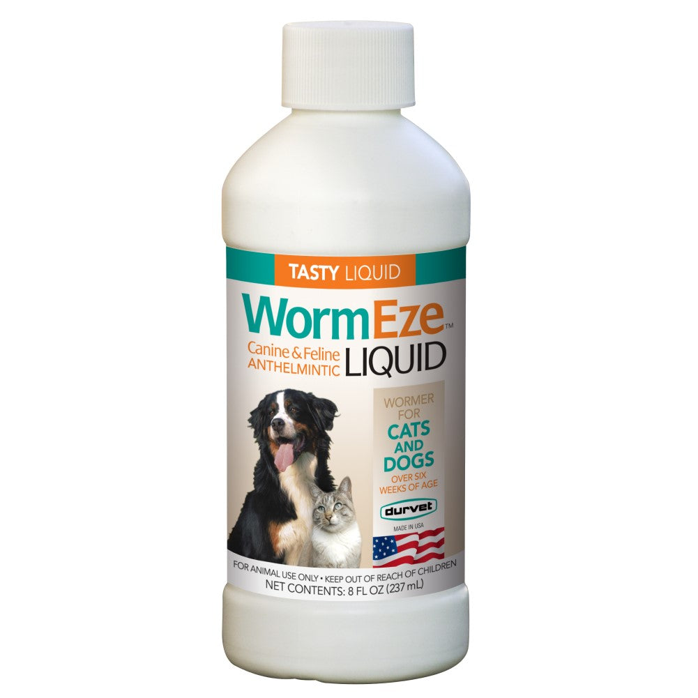 Wormeze K9 And Cat Liquid 8oz