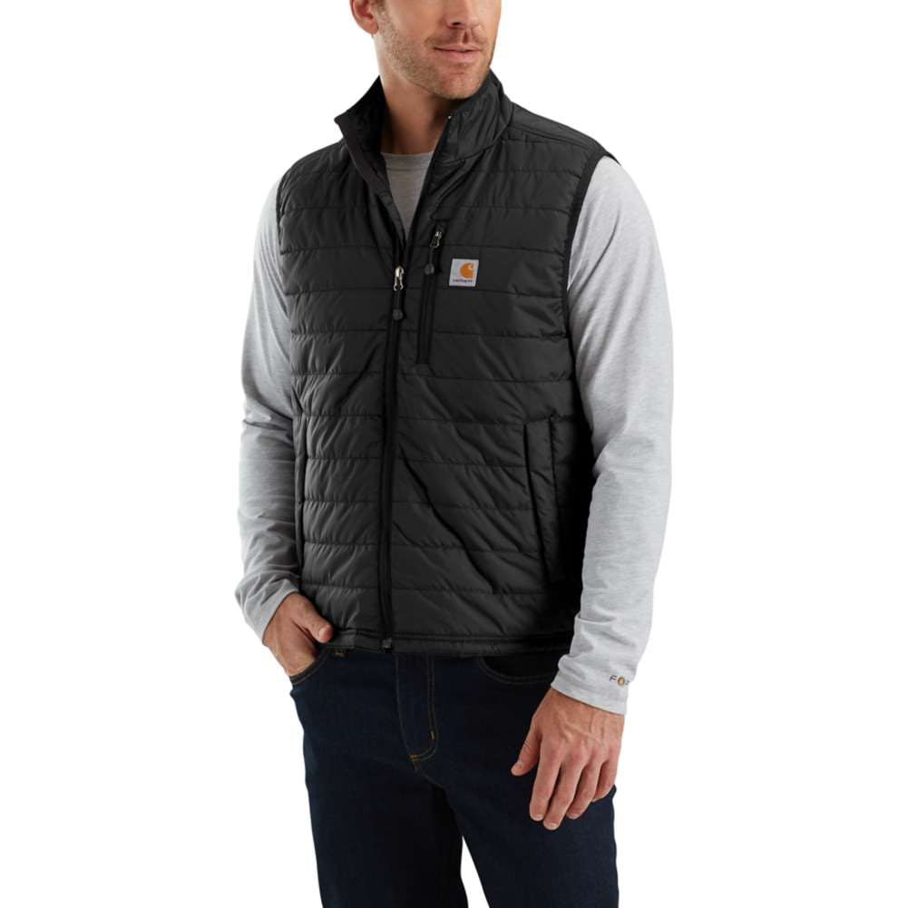 Medium Regular Gilliam Vest Black