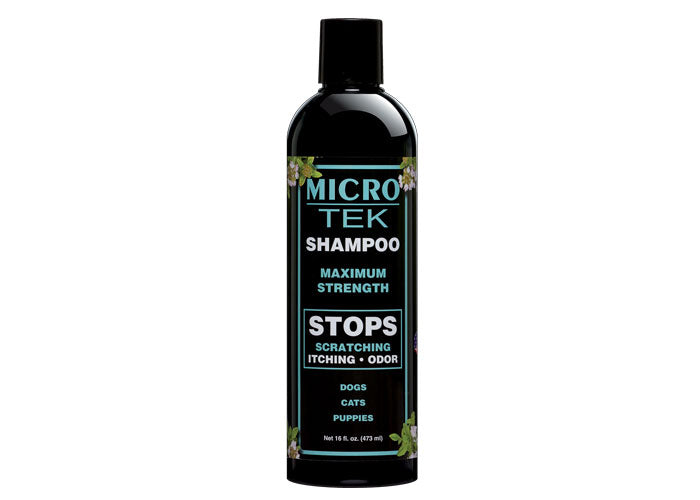 Micro Tek Shampoo for Dogs & Cats 16oz