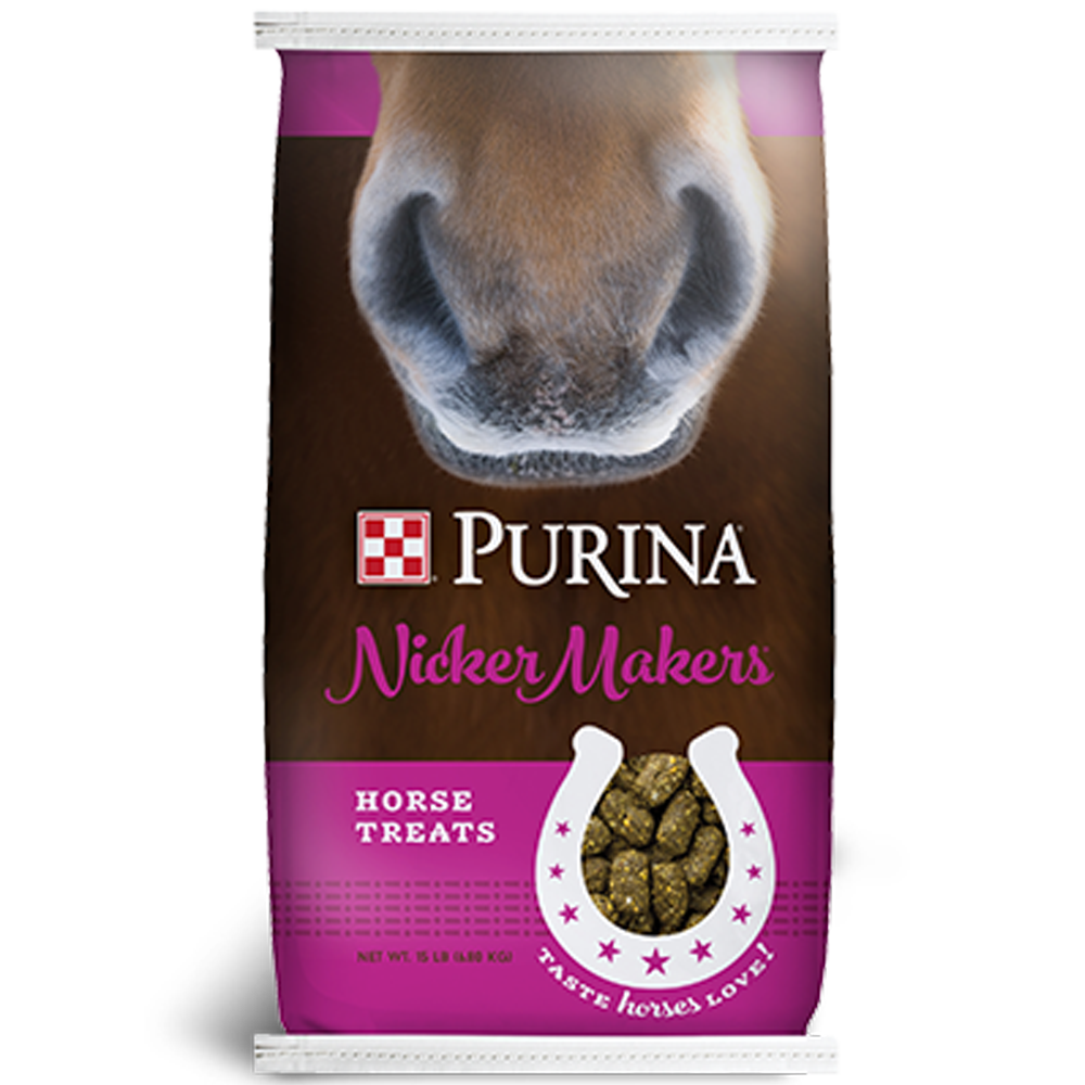 Purina Nicker Makers Horse Treats 15lb