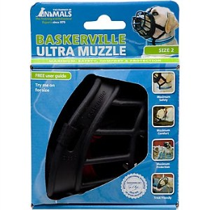 The Company of Animals Baskerville Ultra Muzzle for Dogs Dogs 15-25 lbs (Size 2)