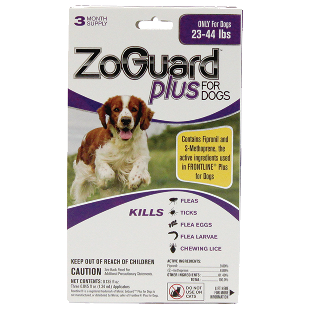 Promika ZoGuard Plus for Dogs 23-44 lbs, 3 Month Supply
